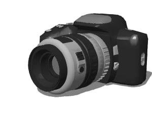 3d camera 35mm model