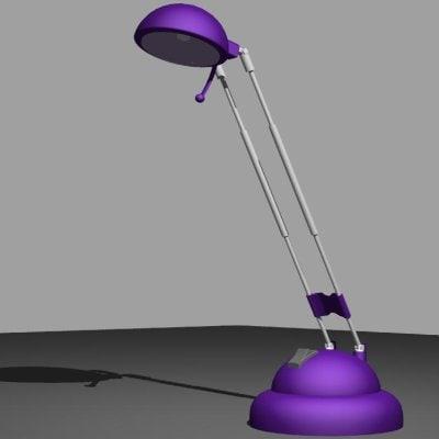 desk lamp 3d 3dm
