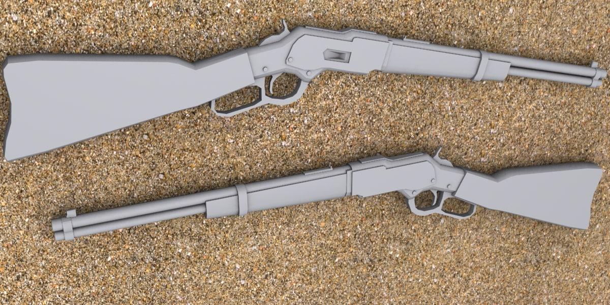 carbine 3d max