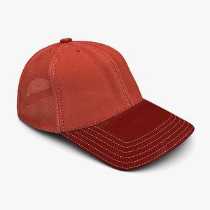 3d model baseball cap colors