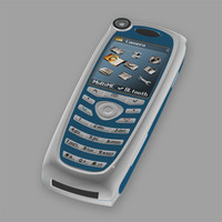 cellular phone siemens 3d model