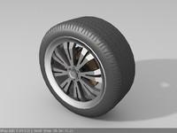 tuning wheel 3d max