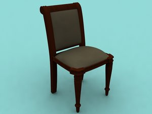 dining chair 3ds