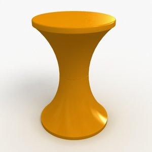 maya stool designed massonnet