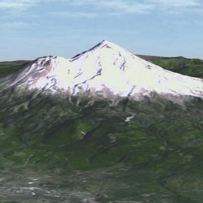 max usgs mount shasta california