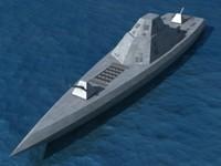 navy dd x ships 3d model