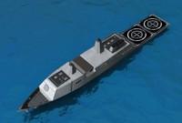 austin-class lpds 3d model