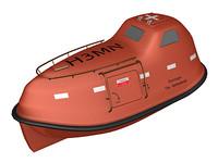 lifeboat life boat 3d max
