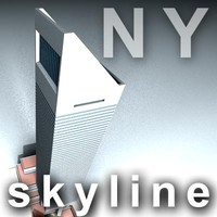 NY skyline - citigroup center.zip