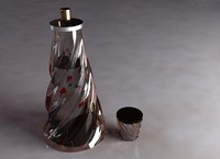 free parfume 3d model