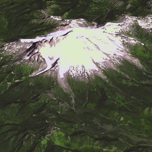 3d usgs mount baker washington