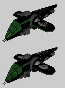 3ds max futuristic helicopter
