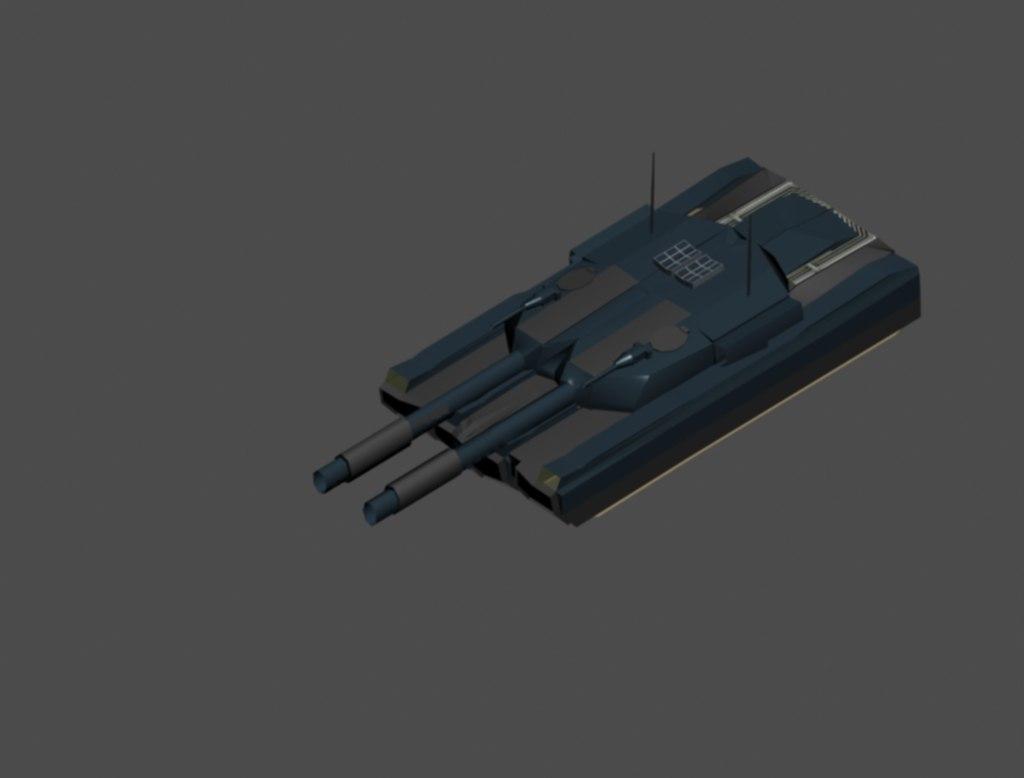 mammoth tank 3d max