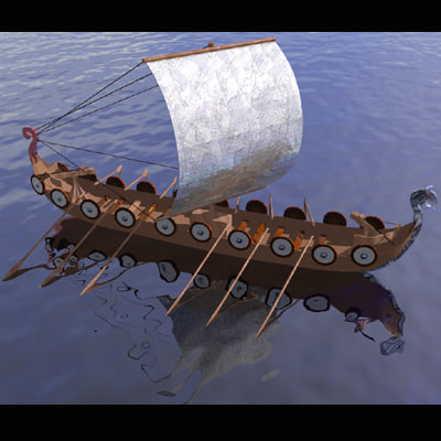 maya viking boat ship