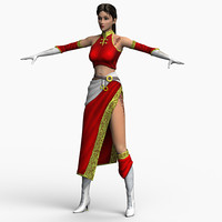 3d body female katrin model