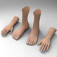 obj hand leg
