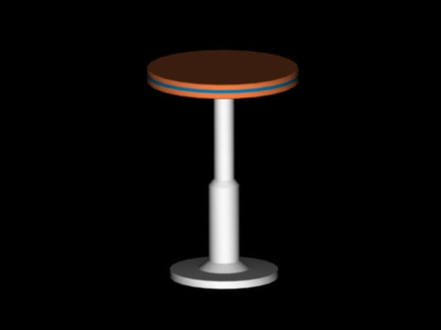 3ds max cafe table