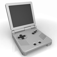 3d gameboy sp