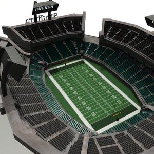 stadium details 3d model