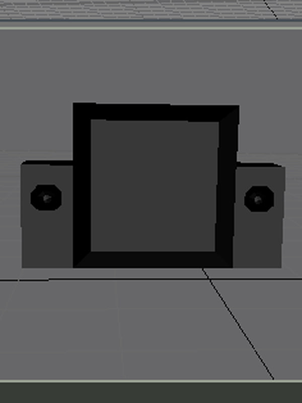 tv 3d model
