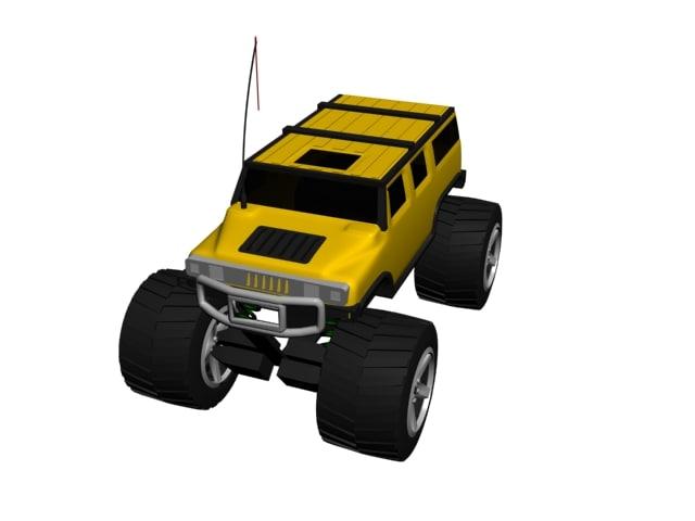 truck 3d max