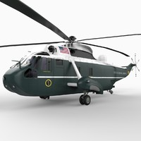 Sikorsky Sea King Helicopter / Marine One