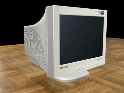 monitor samsung 3d max