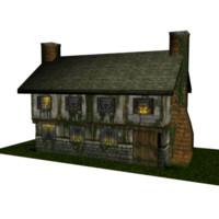 old inn 3d model