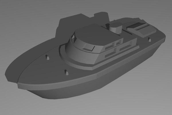boat yacht 3dm