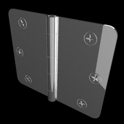 3d model hinge phillips