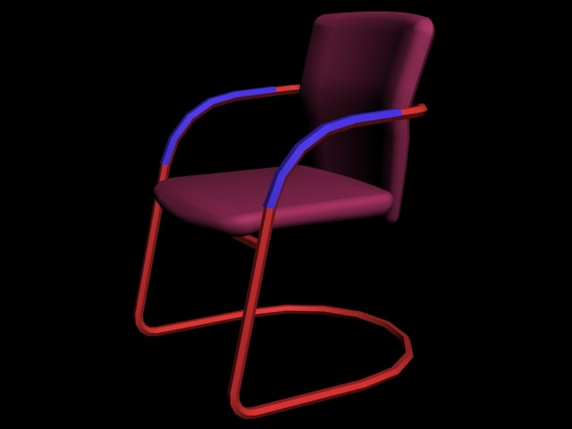 3ds max chair fixed