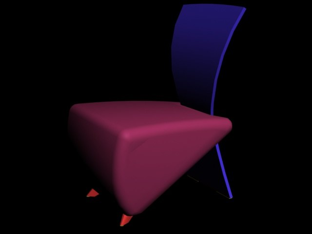 chair funk 3ds