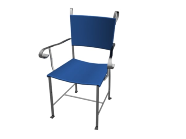chair patio 3d model