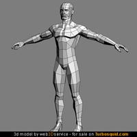 3d model of a Man