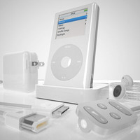 3d model apple ipod 4th generation