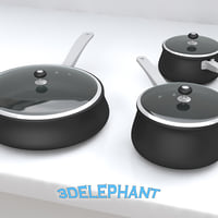 Cookware - 6 piece pan set