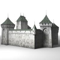 3ds max castle fantasy