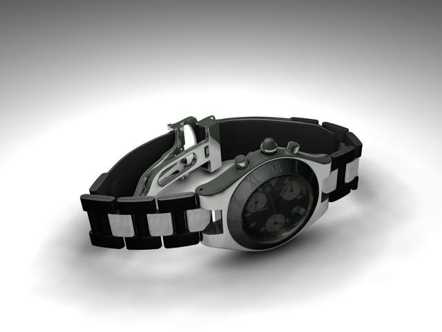 watch modell 3d model