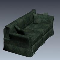 sofa materials 530 3d model