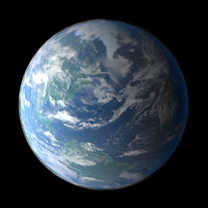 earth maps 3d max