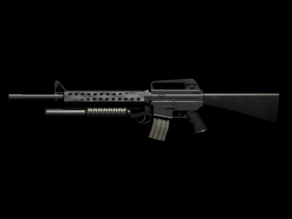 m16-a2 m203 assault rifle max free