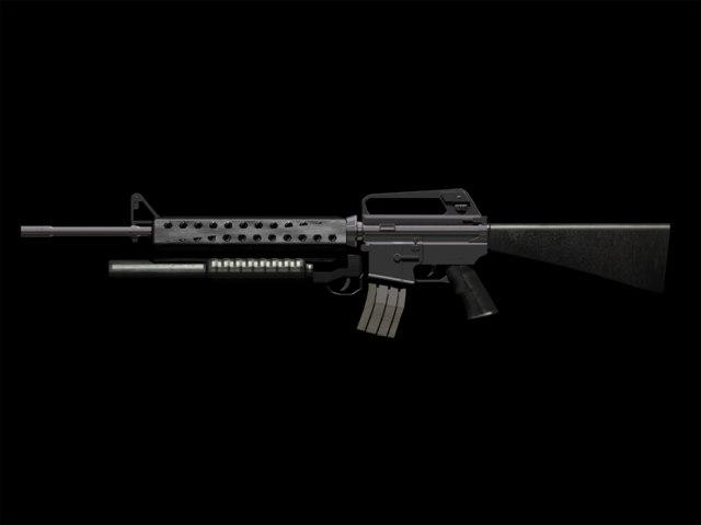 m16-a2 m203 assault rifle max free