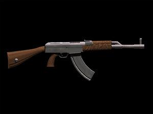 free max model ak47 weapon