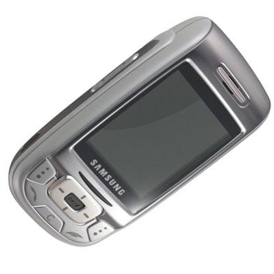 3d samsung sgh d500 cell phone model