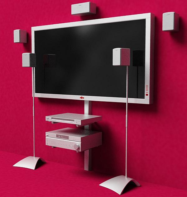 3ds home plasma display