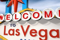 3d las vegas sign street model