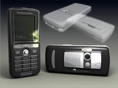 3d sony ericsson k750 model