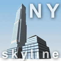 bloomberg tower 3d model