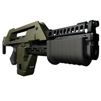 M41a Pulse Rifle High Detail