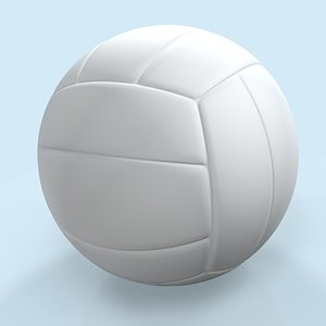 volleyball volley ball 3d model